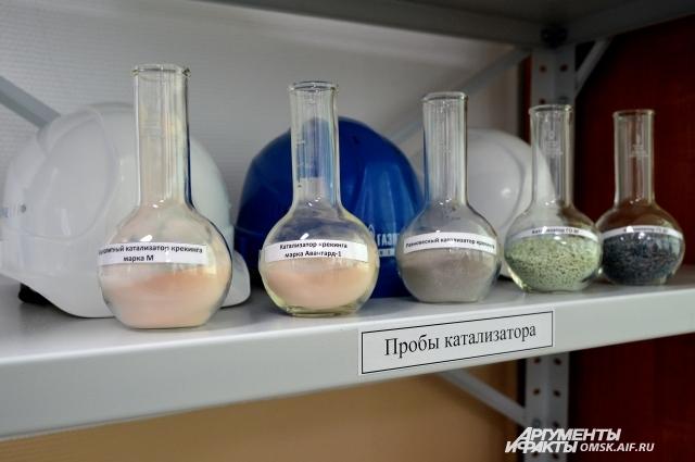 Учёные постоянно предлагают производственникам новые марки катализаторов.