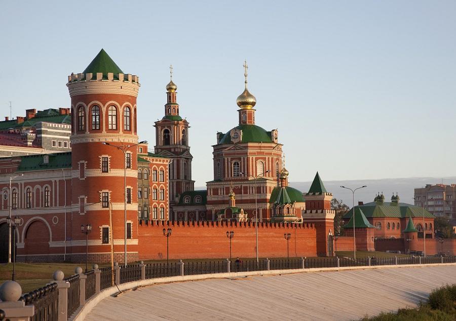 Резиденция экс-губернатора Маркелова.