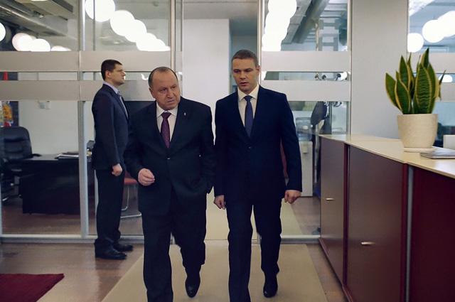 Владимир Стеклов в фильме «Отцы»