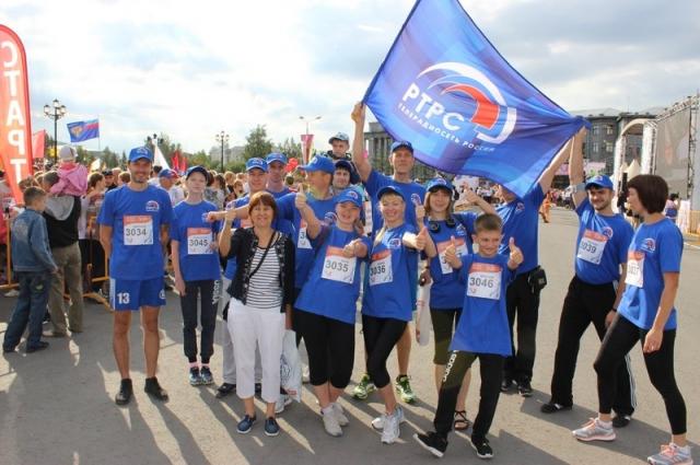 Профсоюз традиционно организует участи в марафоне.