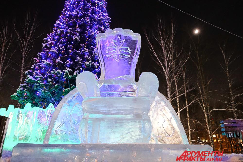 Ледовые городки в Перми 2017