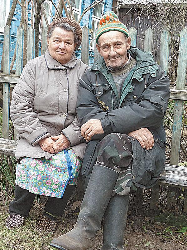 Тётя Путина с мужем