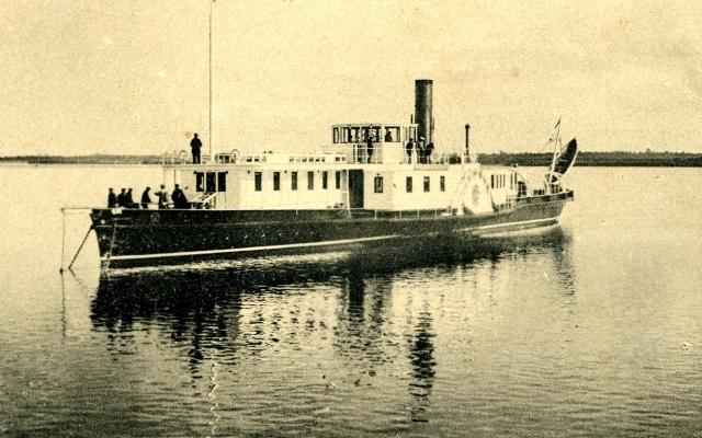 В Симбирск Муравьёв прибыл на бывшем пароходе царицы
