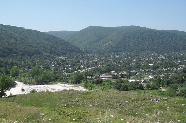 Долина Курджипса, Каменномостский.