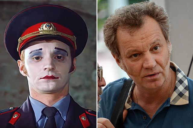 Георгий Делиев. 1988 и 2013 гг.