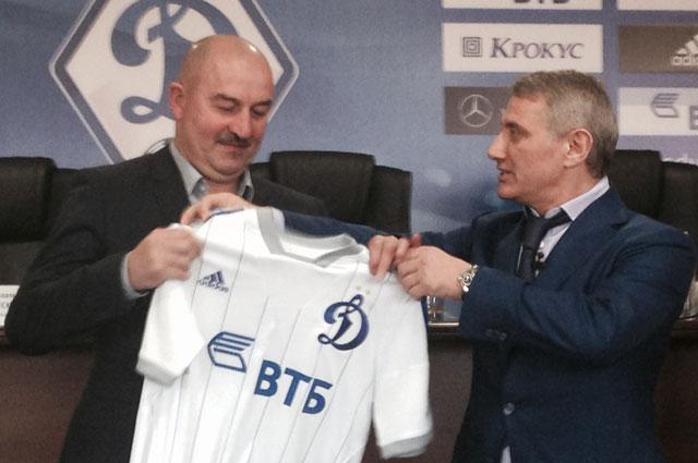 Станислав Черчесов и Борис Ротенберг