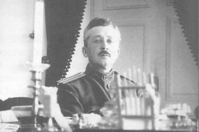 Начальник Царскосельского караула и особого отряда по охране царской семьи Романовых в Тобольске полковник Евгений Степанович Кобылинский.
