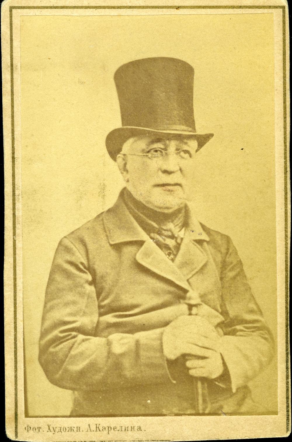 Фридрих Винсон – учитель английского и гувернёр Михаила Лермонтова.