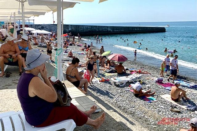 Сочи, пляж, Черное море, отдых