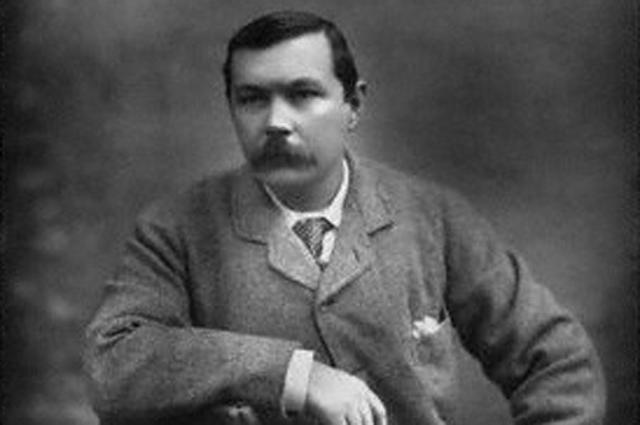 Артур Конан Дойл. 1893 год.