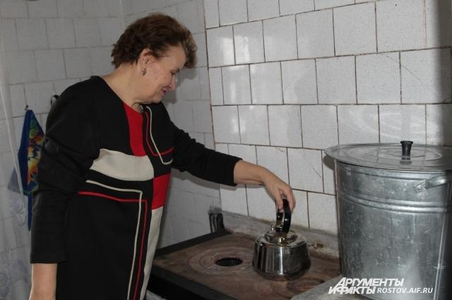 Во многих сёлах Ростовской области в домах печное отопление, как и сто лет назад.