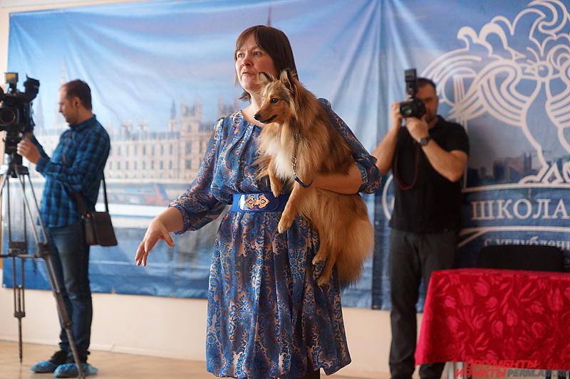 Директор благотворительного собачьего театра Елена Дюкова.