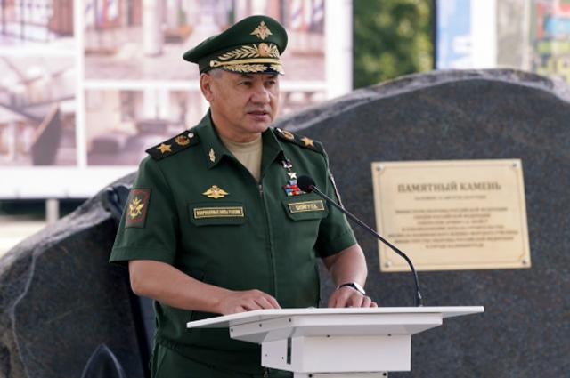Министр обороны РФ принял участие в церемонии закладки камня под строительство филиала Нахимовского военно-морского училища в Калининграде