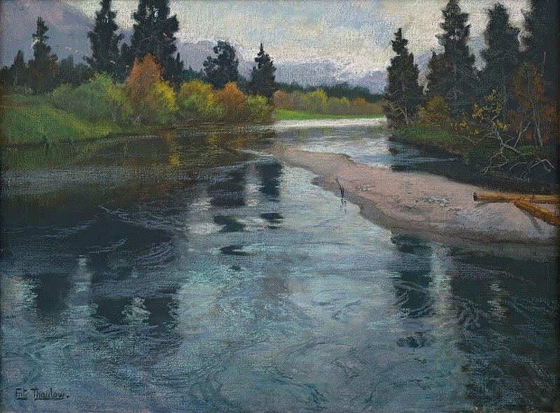 Фриц Таулов. Река.