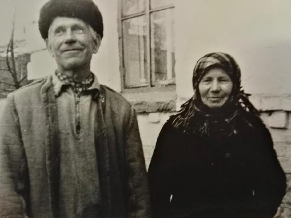 Татьяна с мужем 40 лет назад.
