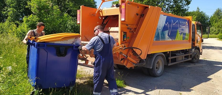 Вывоз мусора в Псковской области