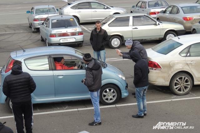 Автомобильный флешмоб