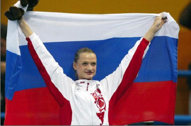 Светлана Хоркина - одна из героинь фильма «Чемпионы».