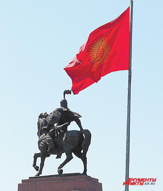 Манас Великодушный - легендарный объединитель киргизов.