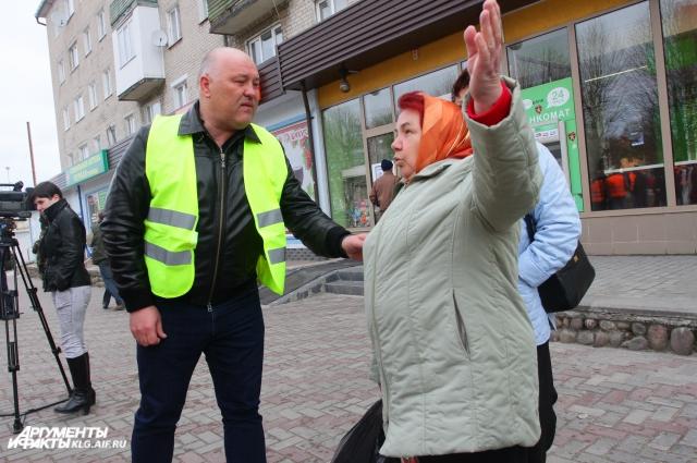 Жителям Светлогорска есть на что пожаловаться главе района.