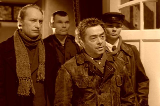 Роман Карцев в роли Швондера смотрелся весьма органично.