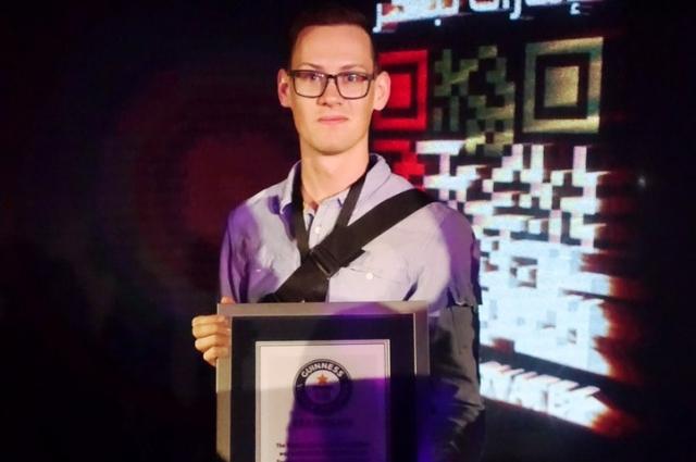 В свои 25 лет Михаил уже попал в Книгу рекордов Гинесса.