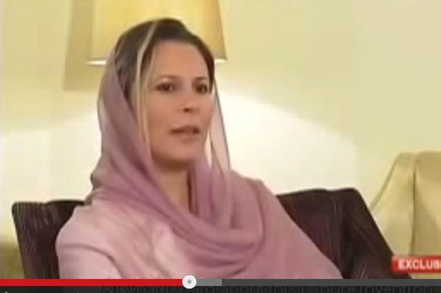Айша Каддафи.