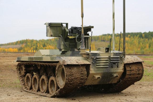 Боевой робот «Нерехта» взвода стоит, а то и роты.