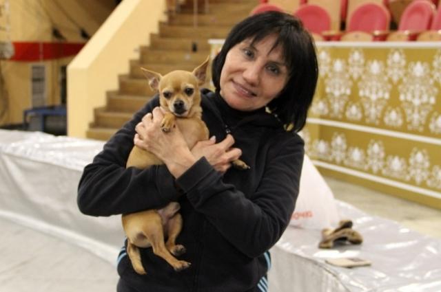 Артистка цирка Саиркан Суанбекова.