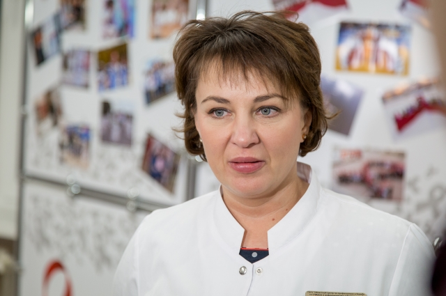 Маргарита Радзиховская, руководитель челябинского СПИД-центра