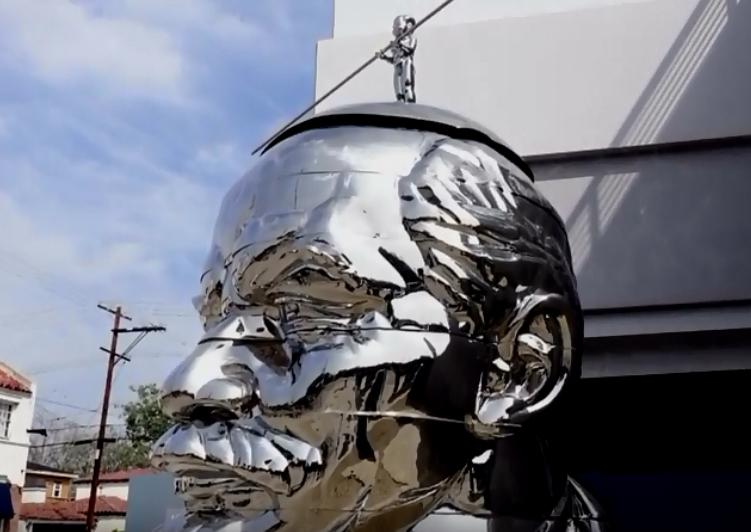 Статуя Ленина в Лос-Анджелесе.