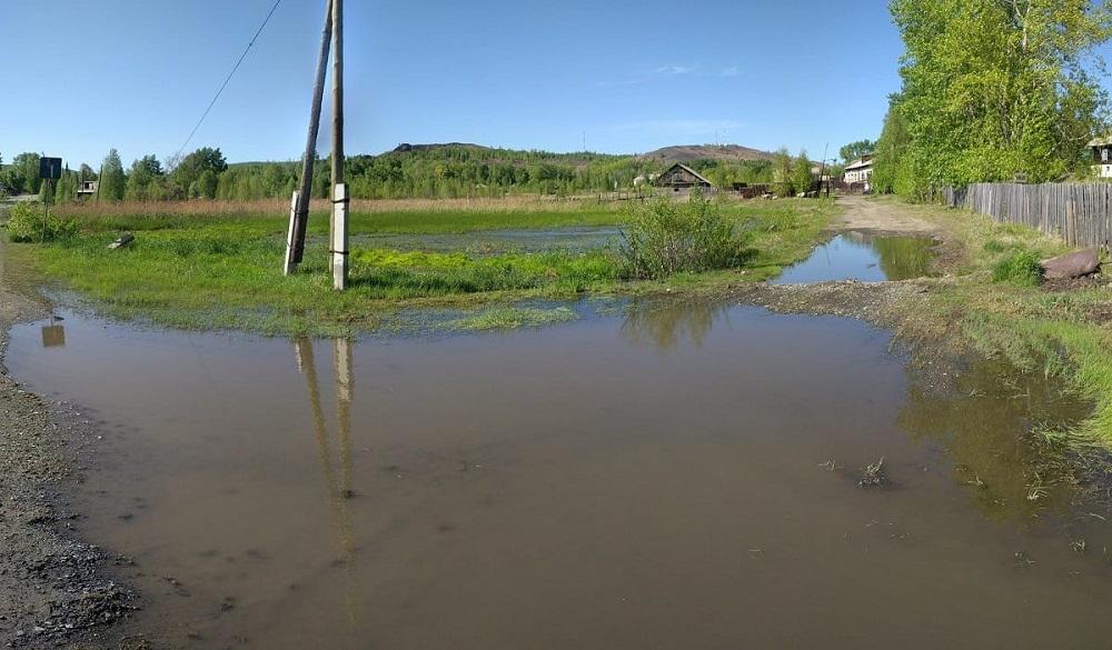 Местные умельцы избавили жителей от постоянного потопа.