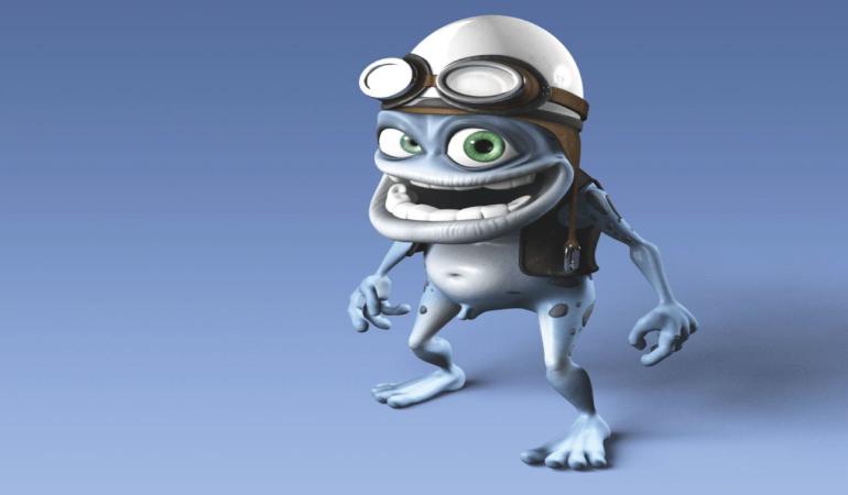 Современная молодёжь ассоциирует это выражение с Crazy Frog — компьютерным анимационным персонажем. Но он здесь не причём.