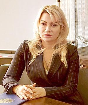 руководитель Управления Федеральной службы государственной регистрации, кадастра и картографии по Республике Крым и Севастополю Олеся Калинкина