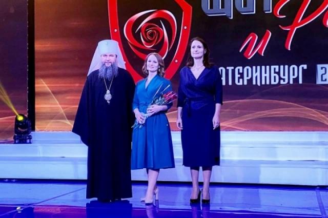 Сотрудницу МВД наградили за помощь в борьбе с пандемией.