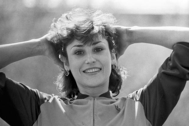 Член сборной команды СССР по лёгкой атлетике, рекордсменка мира по прыжкам в длину Галина Чистякова