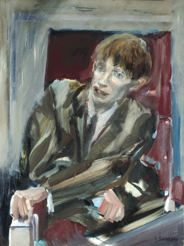 Портрет Стивена Хокинга