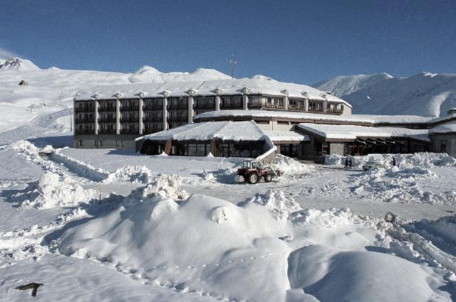 Трехзвездный отель Гудаури на Кавказе расположен на высоте почти 2000 метров