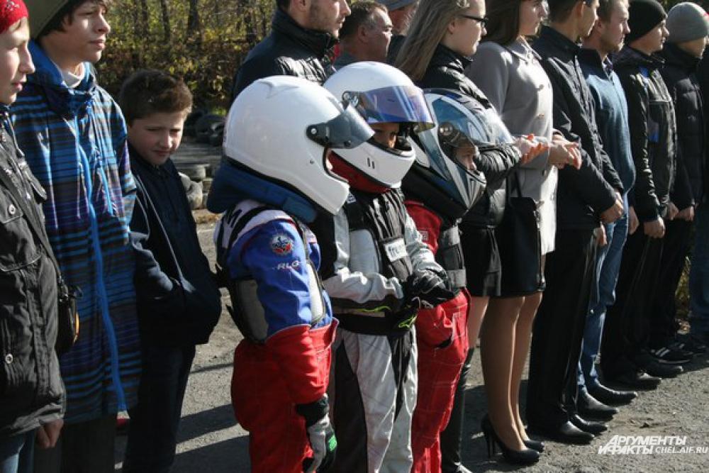 Юные автоспортсмены получили новую машину