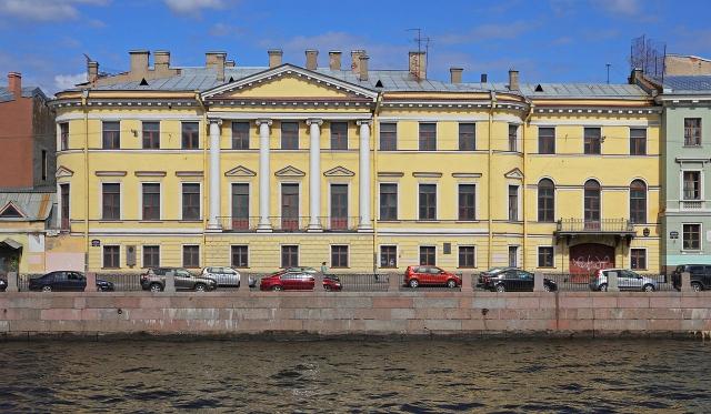Дом князя Голицына на Фонтанке, 20.