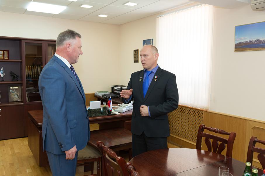 Олег Артемьев, летчик–космонавт