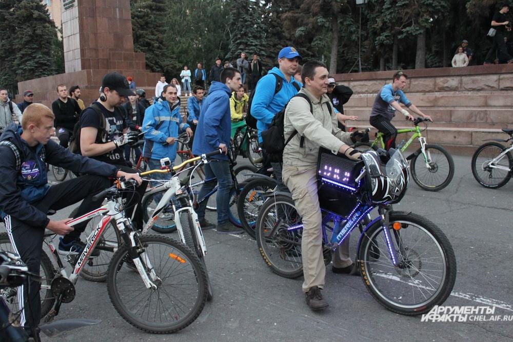 Неккоторые участники потратили на украшение своего велосипеда немало сил и времени.