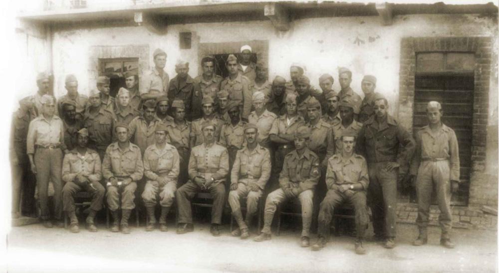 Военнослужащие бразильского экспедиционного корпуса в Италии.