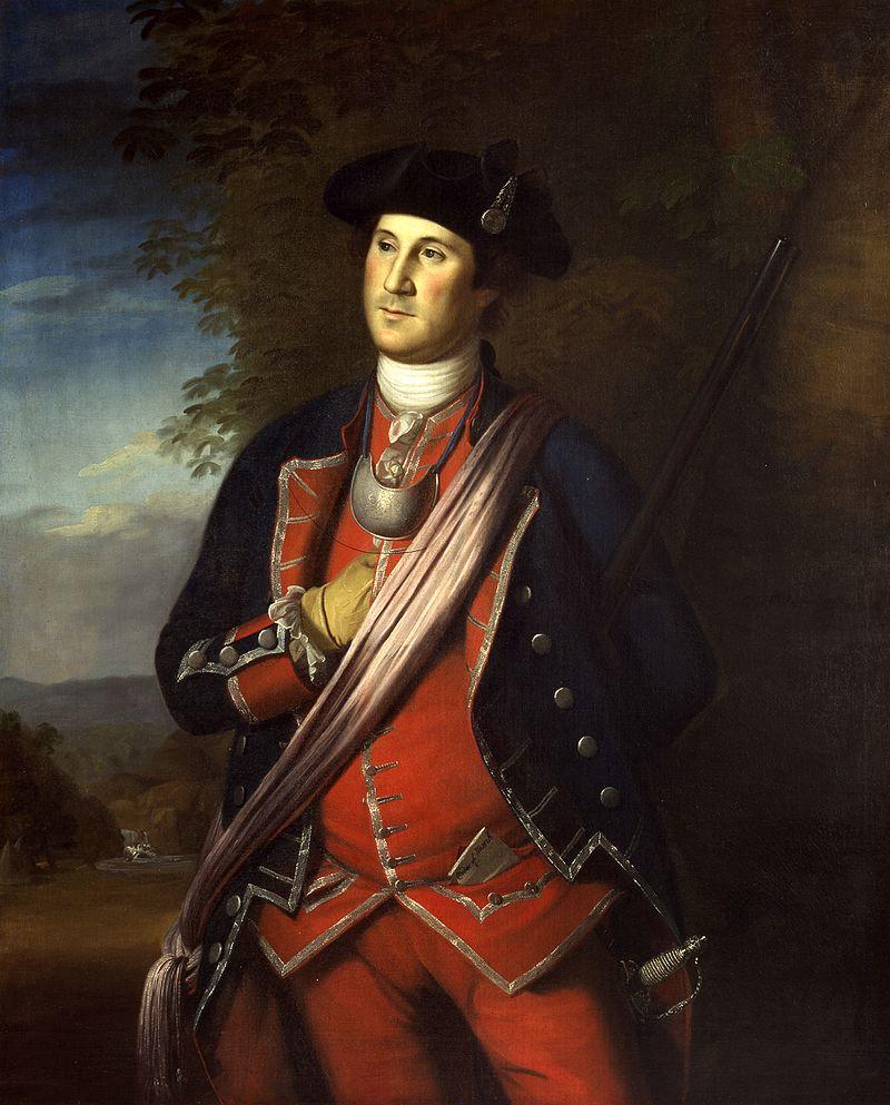 Джордж Вашингтон в 1772 году