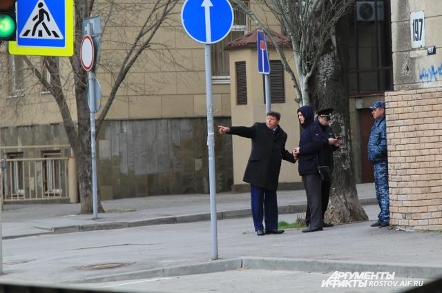 ЧП произошло в центре Ростова-на-Дону