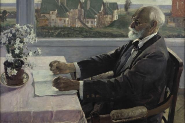 В 1941 году за создание этого портрета художник получил Сталинскую премию.
