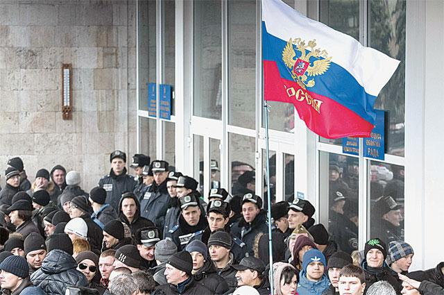 Россия теперь для многих в юго-восточных регионах Украины - единст венная надежда на спокойное будущее