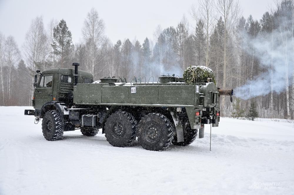 Боевая машина АРС-14 КМ имеет большой функционал.