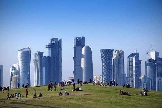 Столица Катара Доха.