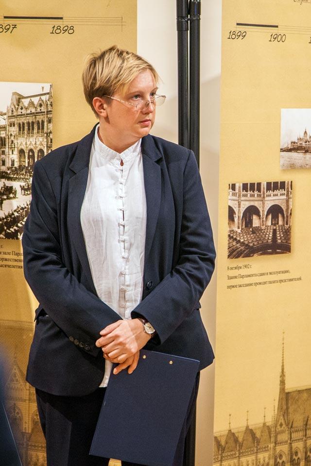 Открытие выставки «Венгерский парламент».